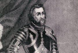 Hernán Cortés byl jedním z nejslavnějších španělských conquistadorů Ameriky