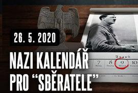 Kalendář s Hitlerem a jeho partou potěší každého správného