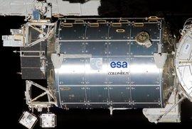 Jeden z vědeckých modulů. V tomto případě modul Columbus Evropské kosmické agentury