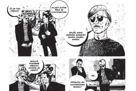 Ukázka z knihy Warhol: Život v komiksu