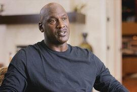 Michael Jordan v dokumentárním seriálu The Last Dance