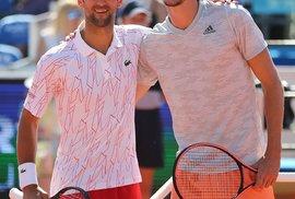 Novak Djoković se svým kamarádem Alexem Zverevem
