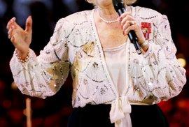 Biritská zpěvačka Vera Lynn