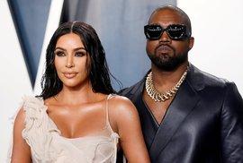 Kim Kardashian a její manžel Kanye West