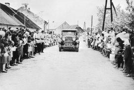 Prezident Edvard Beneš na návštěvě v Podkarpatské Rusi