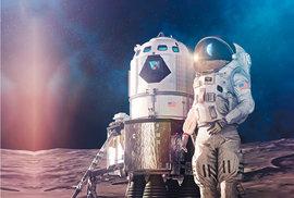 Návrh lunárního modulu od společnosti Lockheed Martin
