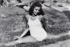 """Před válkou byla nadějnou baletkou agymnastkou. Josef Mengele si ji vOsvětimi vybral ktomu, aby ho """"pobavila"""" tancem. Pak jí daroval chleba. Rozdělila se oněj se spoluvězeňkyněmi. Zvděčnosti ji pak """"nastoličce"""" vyrobené zvlastních rukou nesly zesláblou při pochodu smrti."""