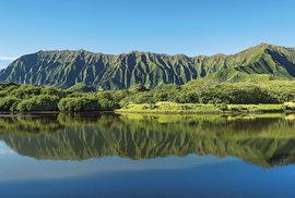 Zvrásněné hory Ko'olau Range, Oahu