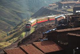 Koleje do ztraceného města aneb Cesta vlakem peruánskou divočinou až do mystického…