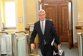 Ministr dopravy Karel Havlíček (ANO) ve Strakově akademii. (20.7.2020ú