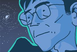 Vyšel Hawking, komiks o vědecké celebritě