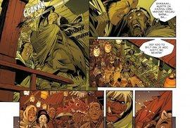 Okko a jeho společníci, maskovaný Noburo, opilý mnich Nošin a mladý Tikku, se vydávají na pouť po sedmi klášterech, aby odhalili skryté tajemství Zakázané knihovny.