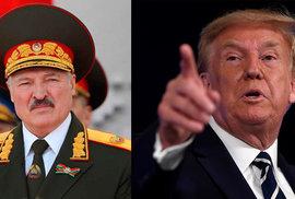 Trump pojede do Běloruska na školení. Lukašenko ve volbách zaválel, snad se přiučíme, doufá americký prezident
