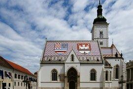 Jako symbol a hlavní atrakci Záhřebu lze jmenovat náměstí a kostel svatého Marka v Horním městě.