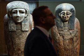 Sochy egyptských králů i 5 000 let staré exponáty. V Národním muzeu je obrovská výstava…