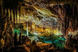 Dračí jeskyně (Cuevas del Drach, Mallorca, Španělsko)