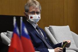 Šéf Senátu Miloš Vystrčil na návštěvě Tchaj-wanu (4.9.2020)