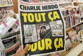 Nejnovější číslo časopisu Charlie Hebdo