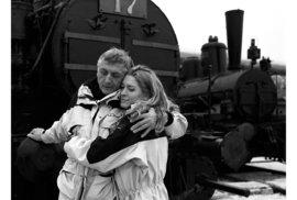 Olga se svým milovaným Jirkou