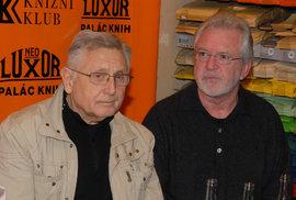 Jiří Menzel a Jaromír Hanzlík