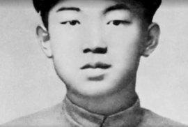 Kim Ir-sen jako mladík.