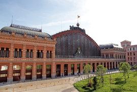Madridské nádraží Atocha