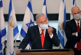 Izraelský premiér Benjamin Netanjahu (8. 9. 2020)