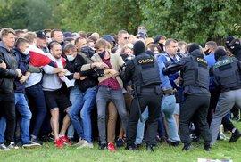 Protest proti výsledkům prezidentských voleb v Minsku, Bělorusko