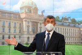 Začíná přituhovat. Premiér Babiš nevyloučil, že by v Česku mohl být znovu zaveden nouzový stav
