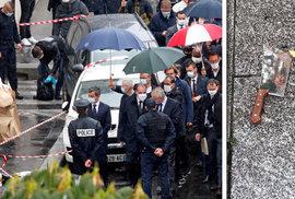 Páteční útok mohl souviset s karikaturami Mohameda časopisu Charlie Hebdo