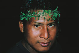 Návštěva u indiánského kmene Yekuanů ve venezuelské Amazonii