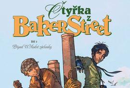 Čtyřka z Baker Street #01: Případ U Modré záclonky