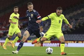 Česká reprezentace v zápase se Skotskem