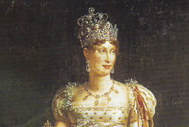 Manželka Napoleona Marie Luisa.