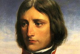 Takto vypadal Napoleon Bonaparte.