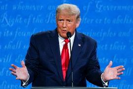 Trump v poslední předvolební debatě ubral na divokosti a přidal na přesvědčivosti, ale…
