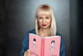 Monika Baudišová se svou novou knihou