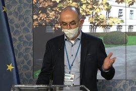 Ministr zdravotnictví Jan Blatný po jednání vlády 2. 11. 2020