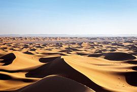 Maroko – Západ slunce nad Saharou