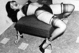Ikona sexuální revoluce a sexsymbol Bettie Page.
