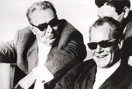 Začátkem sedmdesátých let si Leonid Brežněv u západní levice získal pověst umírněného mírotvůrce (na snímku s německým kancléřem Willym Brandtem)