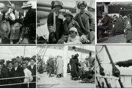 Sedmnáctiletá dívka zachytila první okamžiky po zkáze lodi Titanik