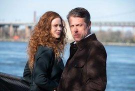 Už se kvůli tomu, že jsem herec, cítím méně špatně, říká představitel nové thrillerové minisérie Hugh Grant