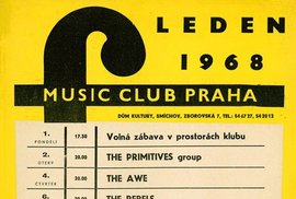 Plakát Music F Club