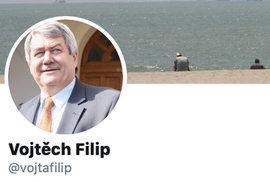 Vojtěch Filip by se měl naučit orientovat ve virtuálním prostoru.