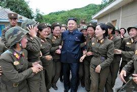 Kim se rád ukazuje v doprovodu žen.