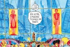 Oslavou stého výročí slavné divadelní hry Karla Čapka R. U. R. je nový autorský komiks