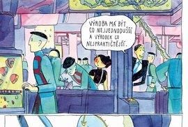 Kreslířka a animátorka Kateřina Čupová představuje Čapkův text ve svěžím pojetí, určeném o sto let mladšímu publiku