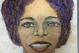 Vrah Samuel Little ve vězení maluje své oběti.