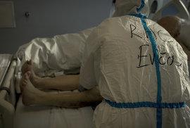 Boj s koronavirem v Krajské nemocnici Liberec (9.12.2020)